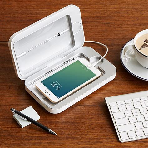PhoneSoap Smartphone Sanitizer | Cell Phone Charger
