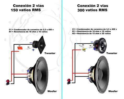 conexiones muy simples para parlantes crossover pasivo taringa joaqui audio crossover