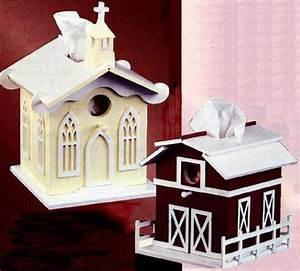 Church & Barn Tissue Box Cover Patterns – Scrollsaw com