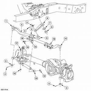 Looking For A Diagram Of A 2004 Ford Excursion 4wd Front