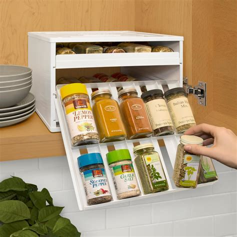 Youcopia Spice Rack by Youcopia Chef S Edition Spicestack 30 Bottle Spice