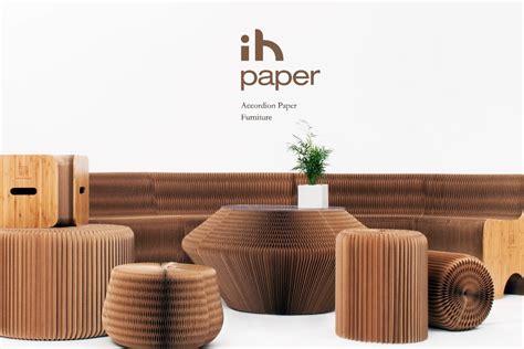 modern accordion paper home furniture  seating sofa