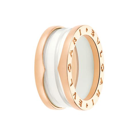 bvlgari bulgari b zero 1 18k white gold 1 band ring size replica bvlgari ring cheap replica cleef arpels