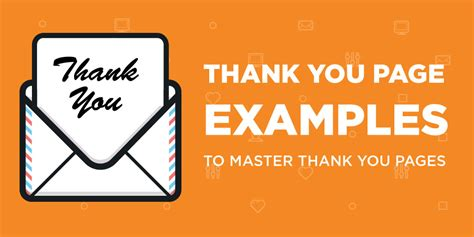 Use These Awesome Examples Master Thank You Pages