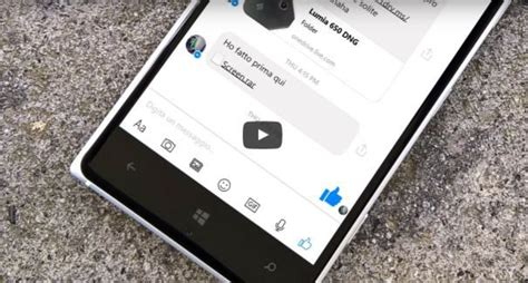 video tour of the new facebook messenger for windows 10 mobile