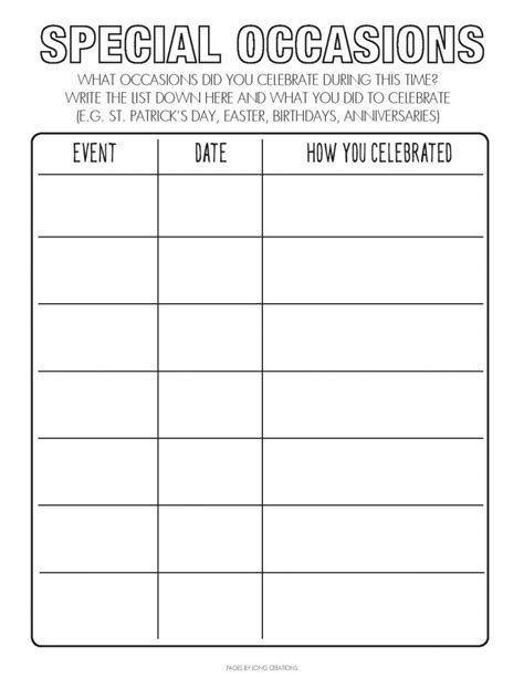 Free Covid-19 time capsule worksheets