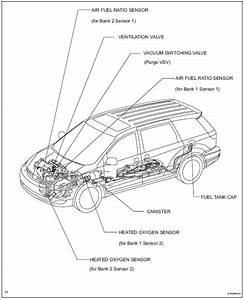 Toyota Sienna Service Manual  Parts Location