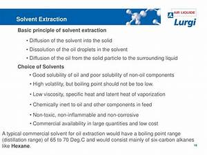 Ppt - Solvent Extraction Powerpoint Presentation