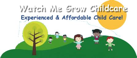 preschool and child care federal way 465 | watch me grow childcare logo