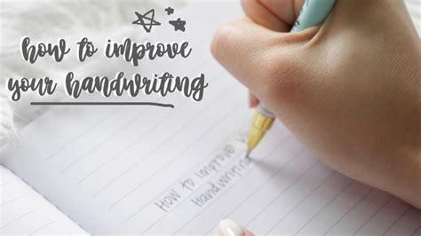 improve  handwriting  change