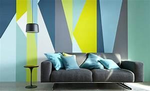 20 idees deco avec de la peinture diaporama photo With conseil pour peindre un mur 8 deco astuces et conseils pour refaire votre salle de sejour