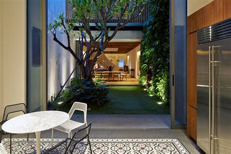 singapore renovated home converted  shophouse