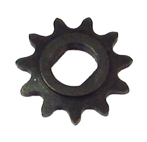 Electric Motor Sprocket by Sprocket For Electric Motor Two Flat Side Mount 11 Tooth