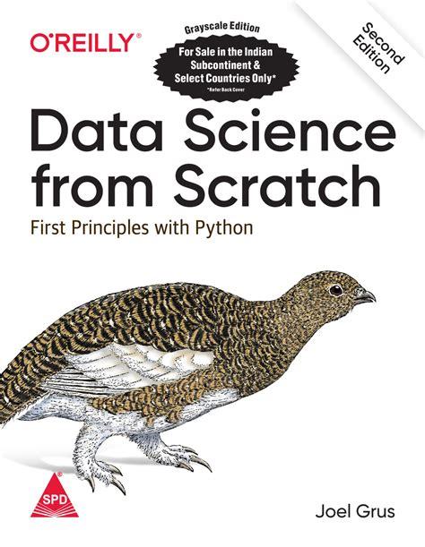books data science  scratch  principles