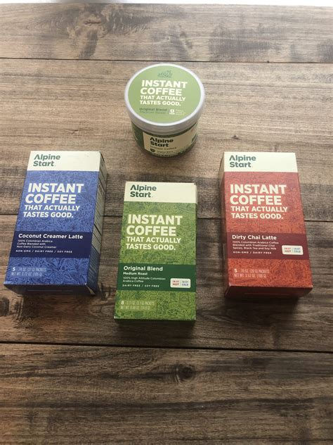 Is a boulder, colorado based coffee and wellness company founded in 2016 by professional climber matt segal. Alpine Start Instant Coffee - Little Helpers In Life