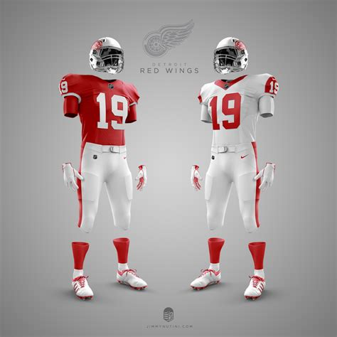 designer creats nhlnfl uniform mashups   hockey