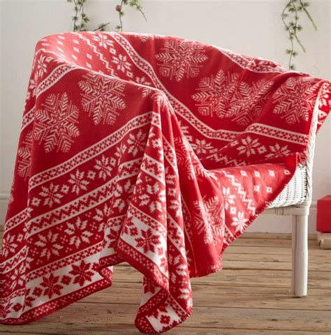christmas throws a beautiful thing home and textiles