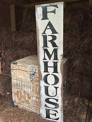 details  large rustic wood sign farmhouse
