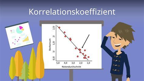 pearson korrelationskoeffizient berechnen statistik