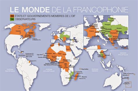 Map Of French Speaking Countries  Free Printable Maps