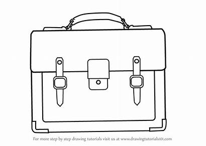 Draw Drawing Bag Handbag Business Step Learn