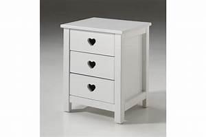 Lit Fille Blanc : lit fille laqu blanc sarah cbc meubles ~ Teatrodelosmanantiales.com Idées de Décoration