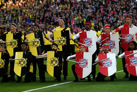 The Champions League final: Borussia Dortmund v Bayern ...
