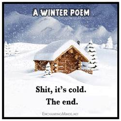 a special winter poem