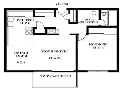 800 Sq Ft Modern House Plans All In One