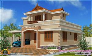 Simple, Double, Storied, House, Elevation, -, Kerala, Home, Design, And, Floor, Plans