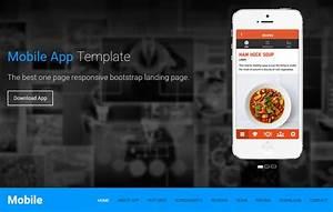 One Page Template HTML5 Landing Page WebThemez