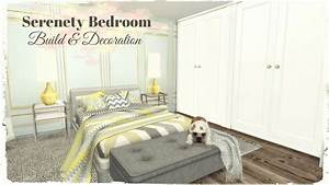 Sims 4 - Serenety Bedroom (Build & Decoration for download