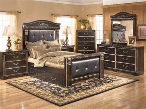 coal creek bedroom set coal creek storage collection b175 bedroom set