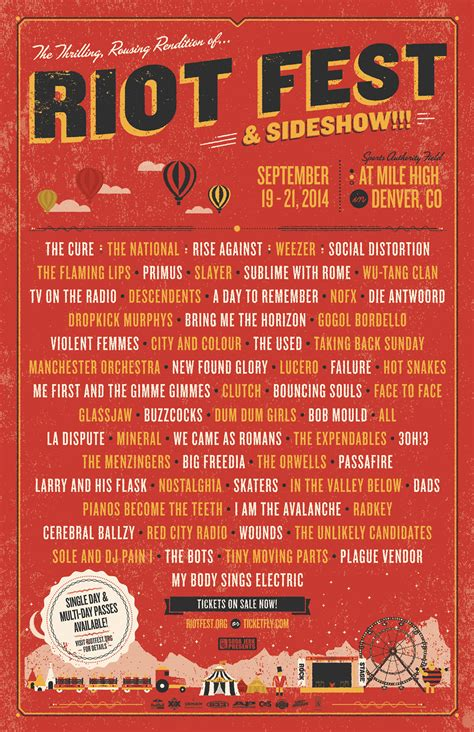 history riot fest