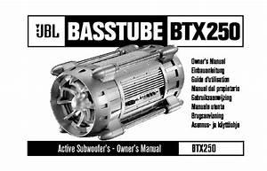 Jbl Btx 250 User Guide    Operation Manual  U2014 View Online Or