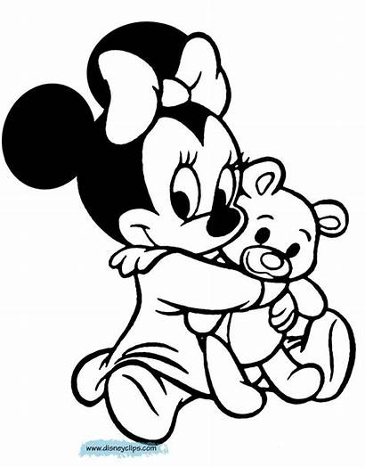 Mickey Coloring Mouse Minnie Disney