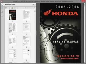 Honda Trx500fe-fm-tm  2005-06  - Service Manual