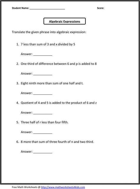 writing expressions worksheet homeschooldressage