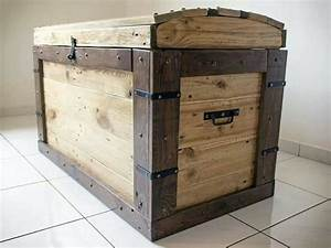 Diy Wood Trunk Plans - WoodWorking Projects & Plans