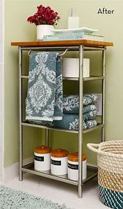 Before and After: A Super Easy Grundtal Cart IKEA Hack ...