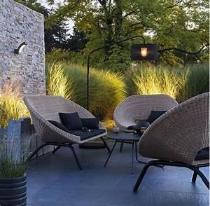 Salon Rotin Exterieur : salon de jardin en rotin collection loa outdoor pinterest chaises et salons ~ Teatrodelosmanantiales.com Idées de Décoration