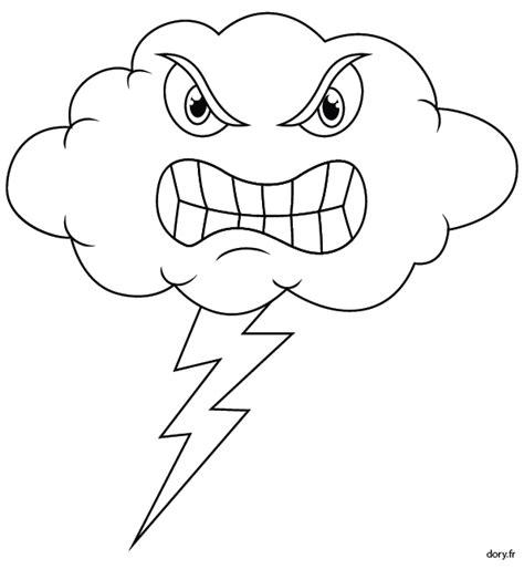dessiner un plan de cuisine coloriage symbole de l 39 orage dory fr coloriages