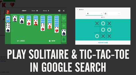 play tic tac toe  solitaire  google search