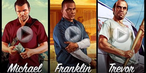 Watch The New Character Trailers For 'grand Theft Auto V