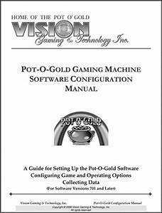 Pot-o-gold Software Manual