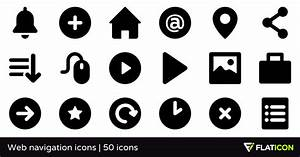 Web Navigation Icons 50 Free Icons  Svg  Eps  Psd  Png Files