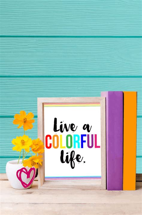 How To Live A Colorful Life  Simple Changes To Make In 2017