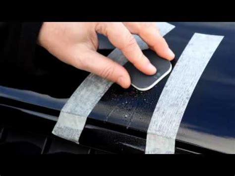 turtle wax scratch repair kit youtube
