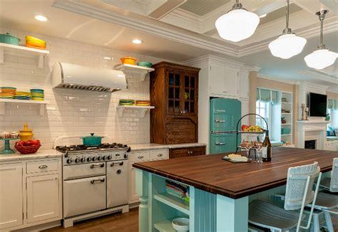 retro beach kitchen style home bunch interior design ideas