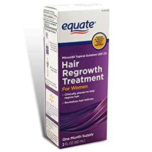 Amazon.com : Equate - Hair Regrowth Treatment for Women